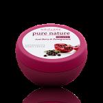 Cremă antioxidantă de noapte cu extracte din fructe acai şi rodie Pure Nature Organic