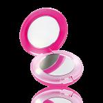 Oglindă compactă Pink Leopard